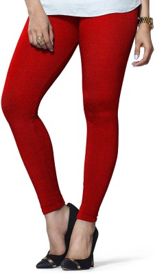 ambey shree trendz Women,s Red Leggings
