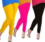 Tyra Women's Yellow, Pink, Black Legging...