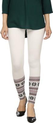desistyle Women's White, Black Leggings