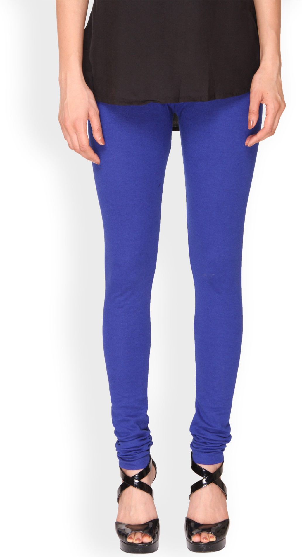 Ten on Ten Womens Blue Leggings