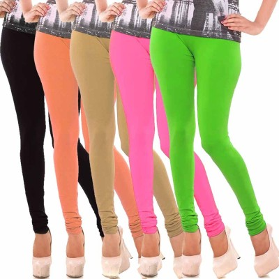 vivancreation Girl's Multicolor Leggings