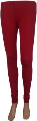 Stylefunia Women's Maroon Leggings