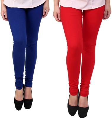 Vastra Buzz Women's Red, Dark Blue Leggings