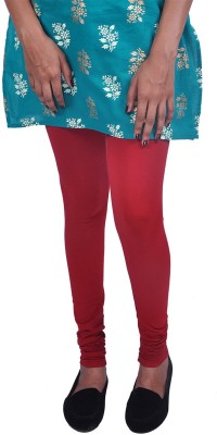 Womens Cottage Women's Red, Light Green Leggings