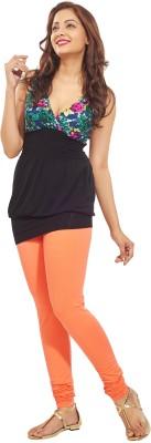 Minu Suits Women's Orange Leggings