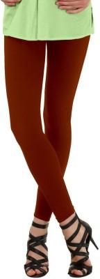 La Pezza Women's Maroon Leggings