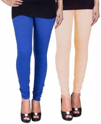 Ayesha Fashion Women's Blue, Beige Leggings