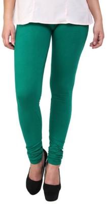 Lakos Women's Dark Green Leggings