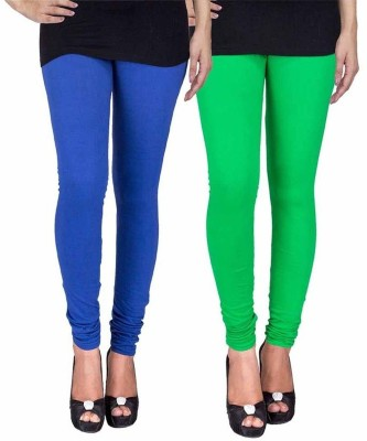 Ayesha Fashion Women's Blue, Green Leggings