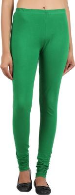 Notyetbyus Women's Green Leggings