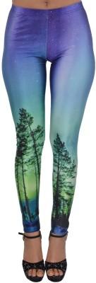 Zayn M, Women's Green Leggings