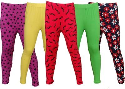 Little Stars Legging For Girls(Multicolor)