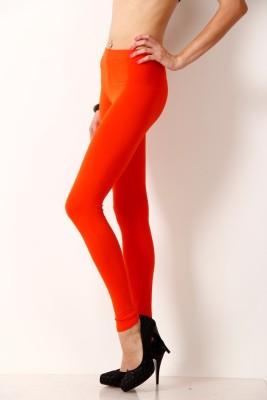 Femmora Women's Orange Leggings