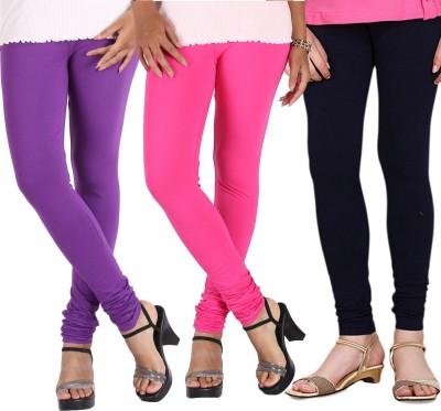 RSR Life Style Women's Pink, Black, Purple Leggings