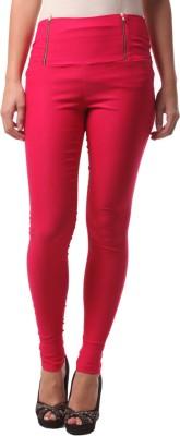 FashionExpo Women's Pink Jeggings