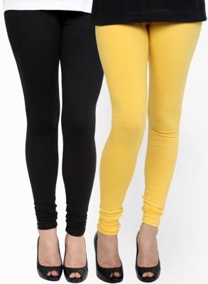 RSR Life Style Women's Black, Yellow Leggings
