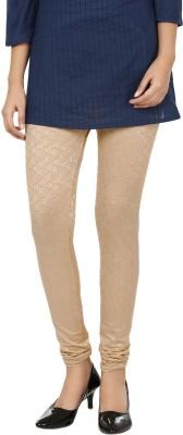 Lavish Women,s Beige Leggings