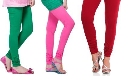 Lienz Women's Green, Pink, Red Leggings