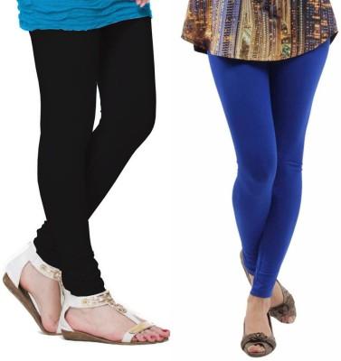 VP Vill Parko Women's Black, Blue Leggings