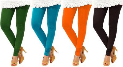 Charu Boutique Women's Multicolor Leggings
