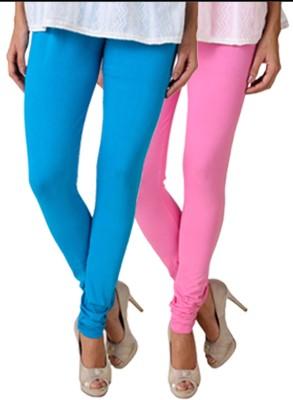 Fasense Women's Blue, Pink Leggings