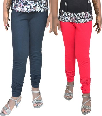 1 For Me Girl,s Black, Red Leggings