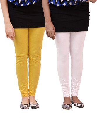 carrol Women's Yellow, White Leggings
