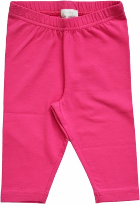 Babeez World Girl's Pink Leggings