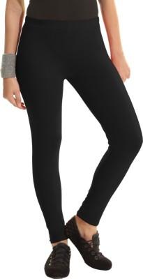 Groversons Women's Black Leggings