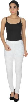 MDS Jeans Women's White Jeggings