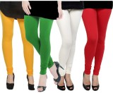 Kjaggs Women's Multicolor Leggings (Pack...