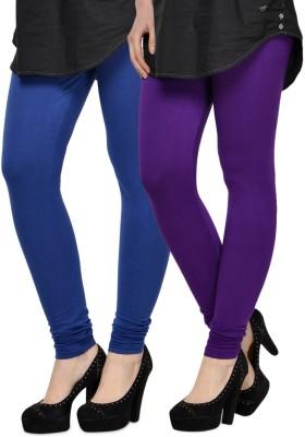 Kjaggs Women's Blue, Purple Leggings