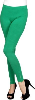 Sheenbottoms Women's Green Leggings