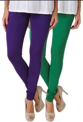 Fasense Women's Purple, Green Leggings