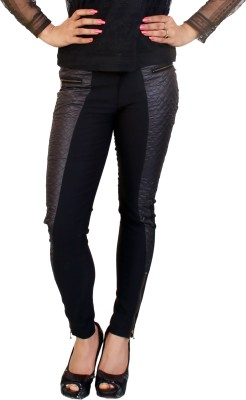 fashion and me Women's Black Jeggings