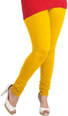 Stylo Junction Women's Yellow Leggings