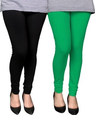 PAMO Women,s Black, Green Leggings