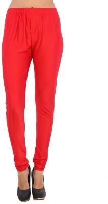 Fashionkala Women's Red Leggings
