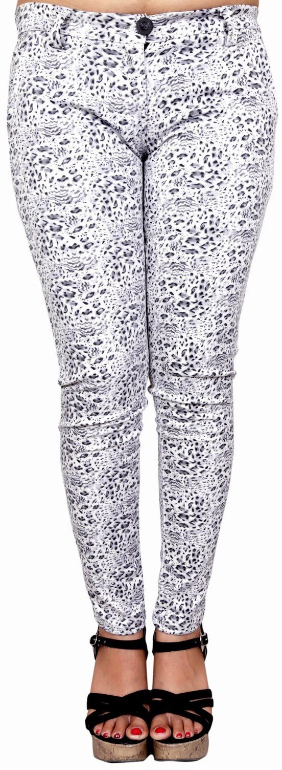 Madaam Womens Multicolor Jeggings