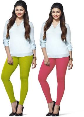 Amul Florio Women's Pink, Green Leggings