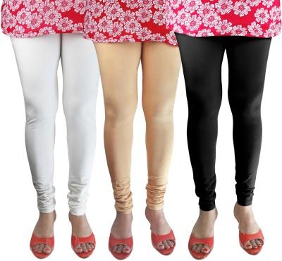 Green Zone Women's Beige, White, Black Leggings