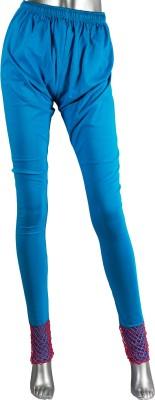 moKanc Women's Light Blue Leggings