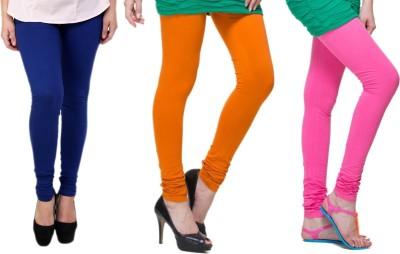 Lienz Women's Blue, Orange, Pink Leggings