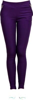 StyloFashionGarments Girl,s Purple Jeggings
