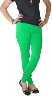 Round Off Women's Green, Yellow Leggings