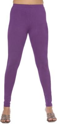 Rasi Silks Women's Purple Leggings