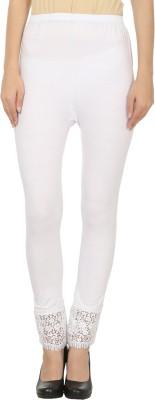 Awadh Enterprises Women's White Leggings