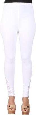 Ayesha Creations Women's White Leggings