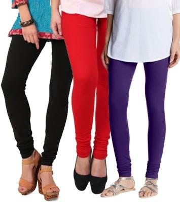 Mount Beauty Women's Black, Orange, Blue Leggings