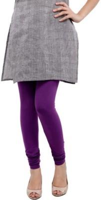Golden Cloud Women's Purple Leggings